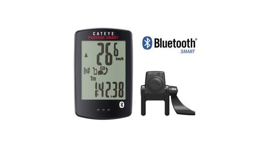 CatEye Padrone Smart CC-PA500B Fahrradcomputer inkl. TF schwarz